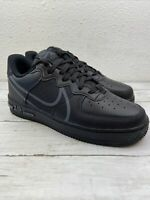 NIKE AIR FORCE 1 REACT BLACK-ANTHRACITE SZ 7 [CT1020-002]