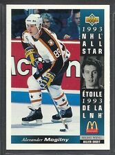 1993-94 Upper Deck McDonald's NHL All Stars - #19 - Alexander Mogilny - Sabres