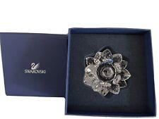 "New listing Swarovski Crystal Lotus Water Lily Candle Holder 4"" - Nib"
