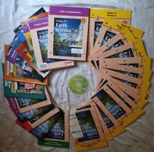 Glencoe FOCUS ON EARTH Science 8TH Grade 8 LOT 28 CURRICULUM CD ROM STUDENT TEXT