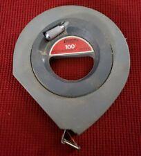 Lufkin HYT100 Speedwind 3/8 inch X 100 ft. Long Tape Measure USA