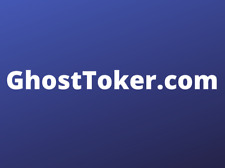 GhostToker.com - Premium Brandable Domain name