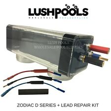 Zodiac/ Aquasphere D20 Generic Self Cleaning Chlorinator Cell + LEAD REPAIR KIT