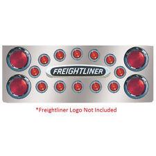 "Freightliner 14"" Rear Center Panel 4- 4"" Round 12 Holes"