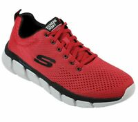 Red Casual Skechers Shoes Men Memory Foam Mesh Sport Athletic Comfort Flex 52857