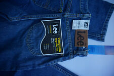 LEE Virginia Herren Tapered Jeans Hose regular W31 L29 stonewashed blau NEU ad19