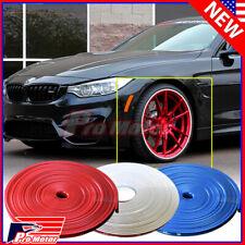 Auto Car Wheel Hub Rim Edge Protector Ring Tire Guard Sticker Rubber Strip 26Ft