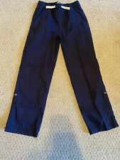 Nwt! The Children's Place Navy Pull-On Roll Up Pants Size 10