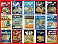 Standard Catalogs of World Coins and Paper money 15 Pcs DVD Shipping