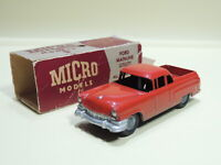 VINTAGE MICRO MODELS G/35 FORD MAINLINE UTILITY MADE IN AUSTRALIA 1950's