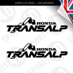 Honda Transalp 600 650 700 Motorcycle Vinyl Decal Stickers 2304-0419