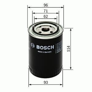 BOSCH P4014 Oil Filter Landrover as ERR3340 V8 200 300 2.5 petrol & diesel