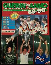 REVISTA  GUERIN SPORTIVO CALCIO MONDO ITALIA 1989-90 FUTBOL
