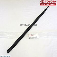 GENUINE TOYOTA SEQUOIA TUNDRA OUTER LH FRONT DOOR GLASS WEATHERSTRIP 68210-0C020