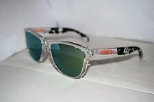 Oakley Frogskins Sunglasses 24-436 Eric Koston Clear/Emerald Iridium NEW