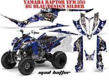 Amr racing décor Graphic Kit ATV yamaha raptor 125/250/350/660/700 Mad Hatter B