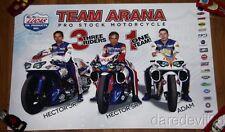 2014 Team Arana Lucas Oil Buell Pro Stock Motorcycle NHRA poster