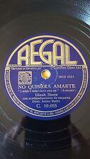 AMERICAN 78 rpm RECORD Regal DINAH SHORE Happy Valley Boys NO QUISIERA AMARTE