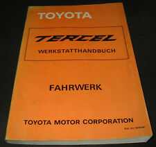 Werkstatthandbuch Toyota Tercel Typ AL 11 Stand 1989 Reparaturanleitung!