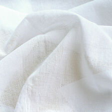"CHEESECLOTH CHEESE CLOTH BUTTER MUSLIN FABRIC INFANT DIAPER BLEACHED WHITE 19""W"