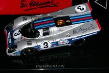 PORSCHE 917K SEBRING 1971 ELFORD LARROUSSE AA 1:43 MODEL SIGNED by VIC ELFORD
