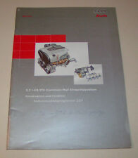 Audi A8 3,3 Liter - V8-TDI Common Rail Einspritzsystem - SSP 227 -  Stand 1999!