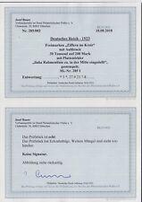 Deutsches Reich Infla - seltene Nr. 285 I gestempelt Befund Bauer - ansehen!!!