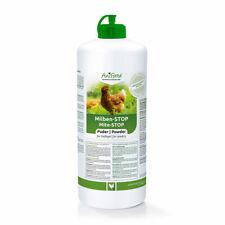 AniForte Milben-STOP Puder für Hühner & Geflügel 1Liter,100 % aus Diatomeenerde