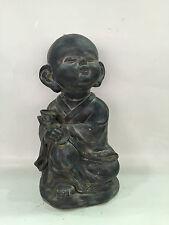 Maison jardin porche intérieur/extérieur heureux bouddha ornement statue décoration