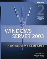 Microsoft Windows Server 2003 Administrator's Companion Admin Companion