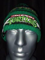 New Era Teenage Mutant Ninja Turtles Knit Pom Beanie Ski Hat TMNT Nickelodeon