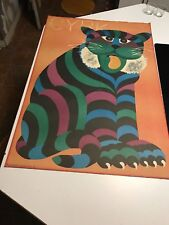 ORIGINAL POLISH CIRCUS POSTER ***CYRK*** Hilscher Art