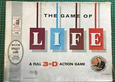 Vintage The Game of Life 3D - 1960 - Milton Bradley/Chad Valley - Very Rare