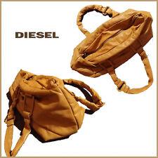 Diesel Umhängetasche Original Italienischen handschuhweiche Lammnappaleder Braun