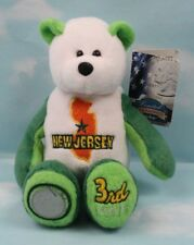 Limited Treasures 50 State Collectible Coin Bears: New Jersey