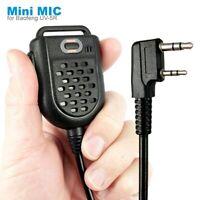 Mini PTT LED Shoulder Speaker Mic Microphone For KENWOOD TK-3107 BAOFENG UV-5R