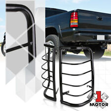 Black Stainless Steel Tail Light/Lamp Guard Protector for 99-07 Silverado/Sierra