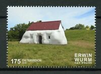 Austria 2019 MNH Fat House Erwin Wurm 1v Set Sculpture Art Architecture Stamps