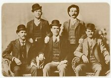 """Butch Cassidy & Sundance Kid Old West Collectors Series 6,1/2"""" x 4,1/2"""" Postcard"""