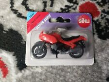 Siku Super Serie Red Bmw Motorcycle R1100RS  Vintage No. 1047