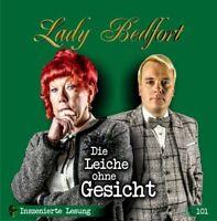 LADY BEDFORT - FOLGE 101: DIE LEICHE OHNE GESICHT  2 CD NEW