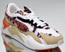 Puma RS-X3 Wild Cats Women's Pale Khaki Puma White Low Lifestyle Sneakers Shoes