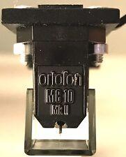 Ortofon MC10 MKII Low Output Moving Coil Cartridge LOMC NEW Nude Elliptical Tip