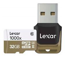 Tarjetas de memoria Lexar para cámaras de vídeo y fotográficas para 32 GB