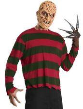 Freddy Krueger EVA Mask Shirt Nightmare On Elm Street 888434 X-Large XL Costume