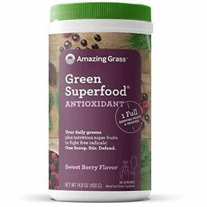 Amazing Grass Green Superfood Antioxidant: Organic Plant Based Antioxidant and W