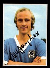 Wolfgang Lex Autogrammkarte TSV 1860 München Spieler 70er Jahre Original Sign