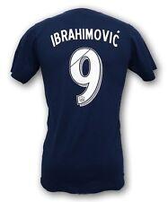 MLS Los Angeles Galaxy Ibrahimovic #9 Men's Tshirt NWOT Made by adidas