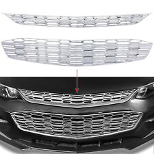 For Chevy Malibu 2016 2018 Chrome Snap On Grille Overlay Grill