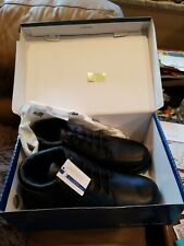 DREW SHOE MEN'S TUCSON BOOTS BLACK LEATHER 14 6E NEW IN BOX W/ TAGS
